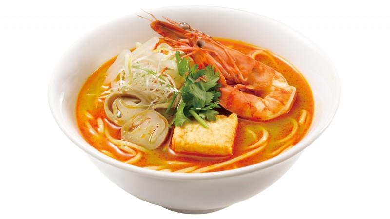 咖喱叻沙湯麵 (馬來西亞)