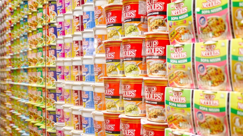 See the huge variety of CUPNOODLES packages from around the world.