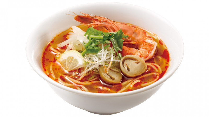 Tom Yum Goong Noodles (Thailand)